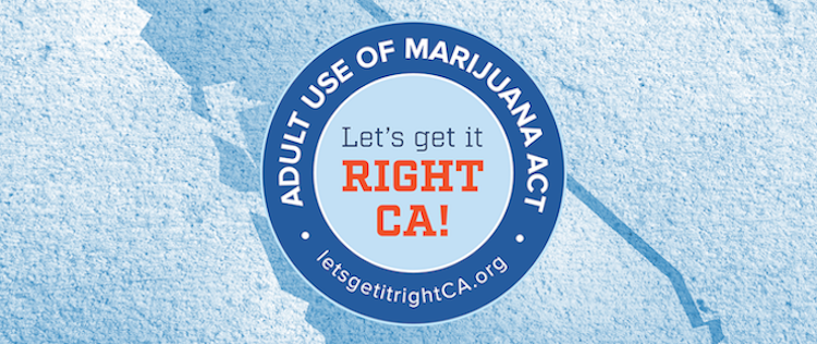 Prop 64 Adult Use of Marijuana AUMA