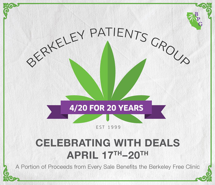 BPG Celebrates 4/20 for 20 Years