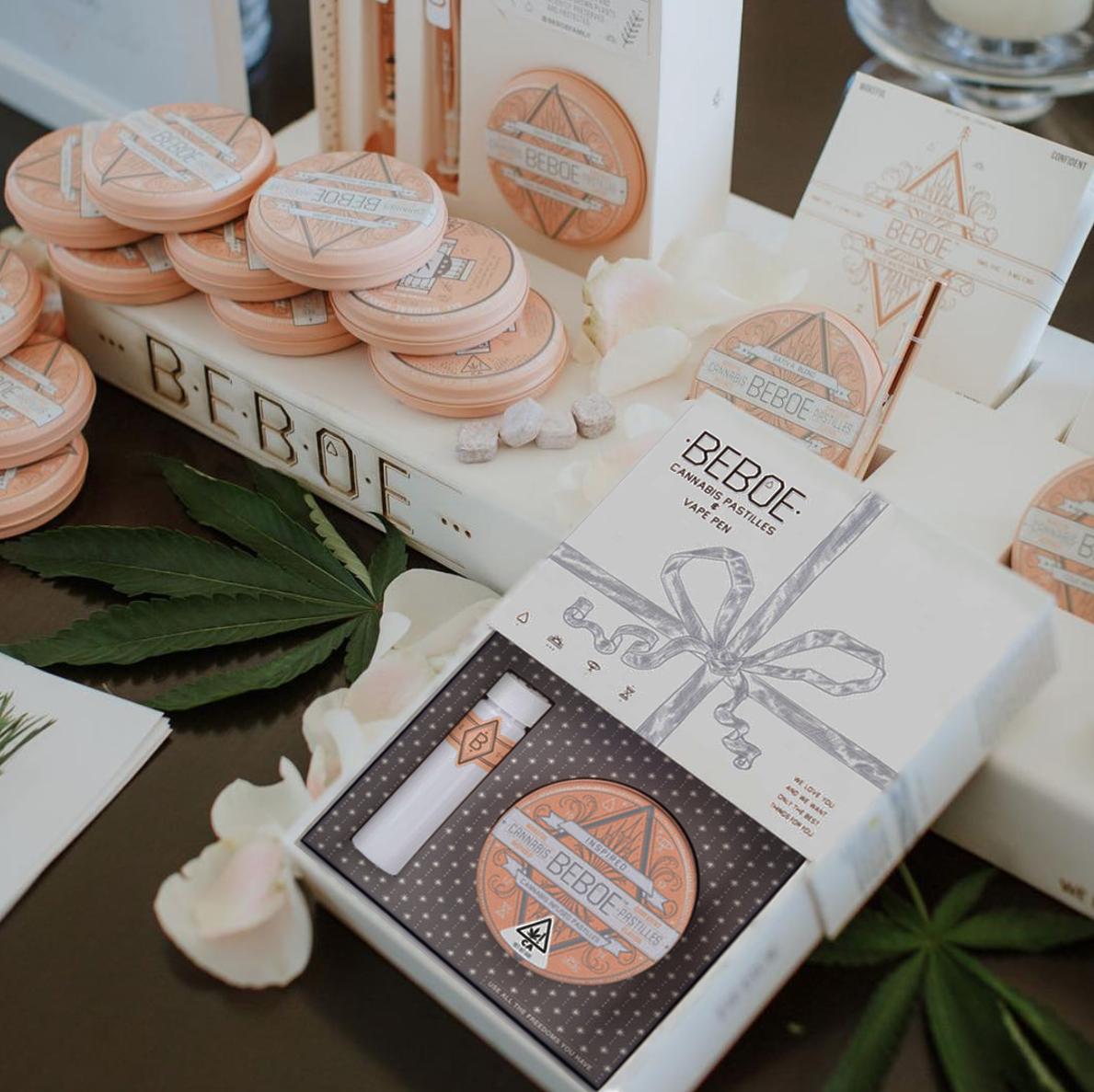 Beboe Holiday Besties Gift Box Set Cannabis BPG