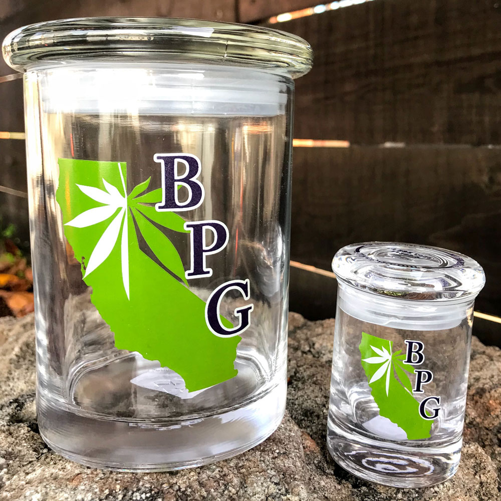 BPG Stash Jar Eighth Cannabis