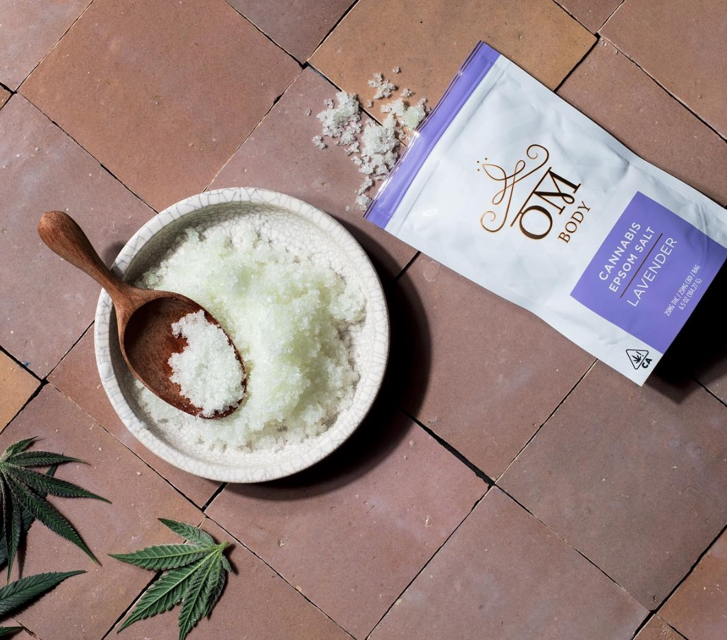 OM Lavender Bath Soak Mother's Day Gift